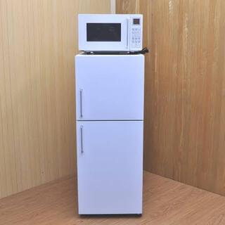 ムジルシリョウヒン(MUJI (無印良品))の無印良品 冷蔵庫オーブンレンジセット(冷蔵庫)