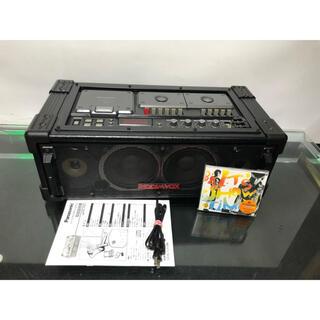 パナソニック(Panasonic)のパナソニックRX-PA7ラジカセ動作品メンテナンス済み内蔵ブルーツゥース変更可能(ポータブルプレーヤー)