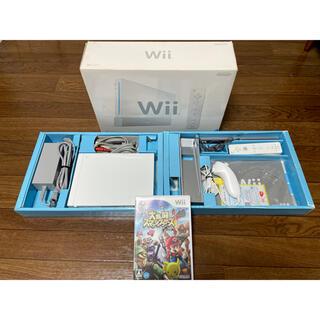 Wii - ニンテンドー Nintendo Wii 箱付き本体+ソフト付き