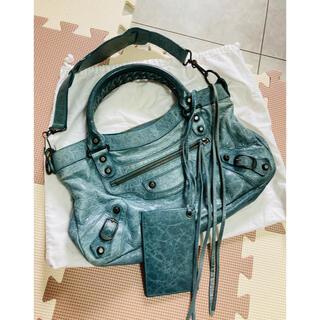 Balenciaga - 新宿高島屋購入❣️本物保証 希少カラー バレンシアガ 王道バッグ ハンドバッグ