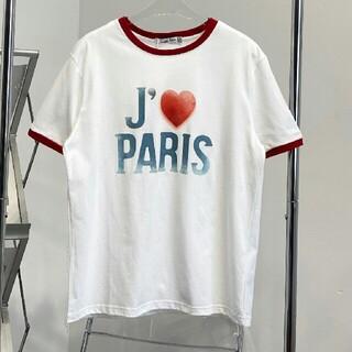 ディオール(Dior)のグラデーションプリントロゴラウンドネック半袖(Tシャツ(半袖/袖なし))