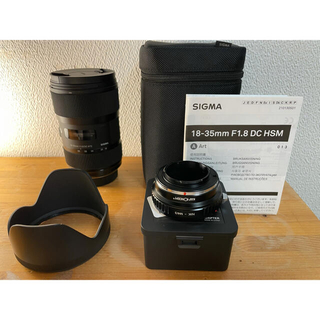 SIGMA - SIGMA 18-35 F1.8 DC HSM Art ニコン