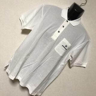 ダンロップ(DUNLOP)の【新品 タグ付】DUNLOP ダンロップ ロゴ刺繍 半袖 ポロシャツ M(ポロシャツ)