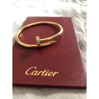Cartier - 超美品  カルティエ 17 ジュストアンクル