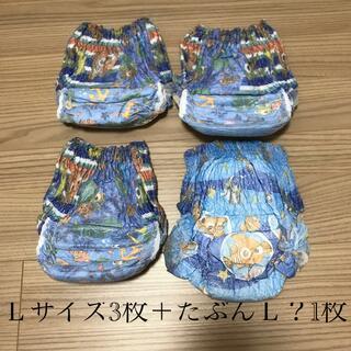 ユニチャーム(Unicharm)の水遊び オムツ パンツ Lサイズ 4枚 男の子柄(ベビー紙おむつ)