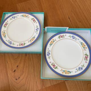 ティファニー(Tiffany & Co.)のティファニー フローラル プレート2枚(食器)