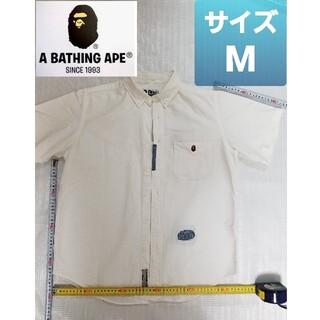 アベイシングエイプ(A BATHING APE)の【激レア】【sizeM】A BATHING APE【シャツ】(シャツ)
