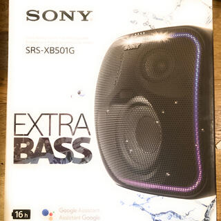 SONY - SONY SRS-XB501G Bluetooth スピーカー Google搭載
