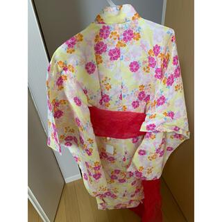 ニシマツヤ(西松屋)の新品未使用130cm☆浴衣(甚平/浴衣)