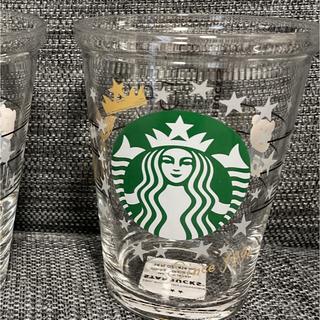スターバックスコーヒー(Starbucks Coffee)のスタバ 第3弾 コレクタブルゴールドカップグラス(グラス/カップ)