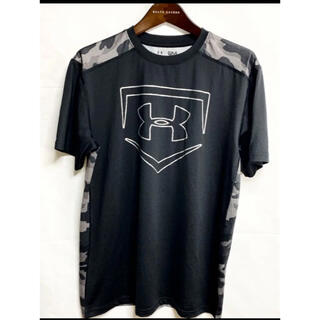 UNDER ARMOUR - 【美品】アンダーアーマー Sサイズ Tシャツ 半袖 ブラック 黒