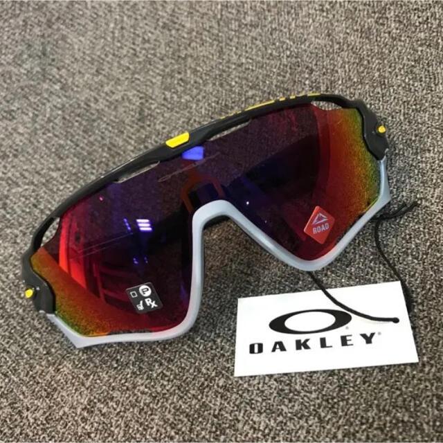 Oakley(オークリー)のOAKLEY(オークリー)ジョーブレーカー  ツール・ド・フランス限定モデル スポーツ/アウトドアの自転車(ウエア)の商品写真
