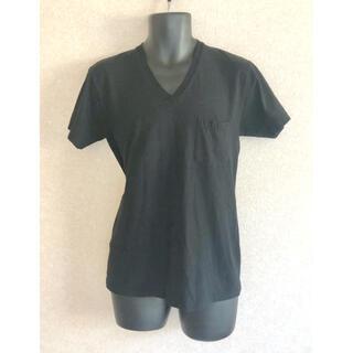 エヌハリウッド(N.HOOLYWOOD)のN.HOOLYWOOD COTTON BUCK SEAM V CUT SEW(Tシャツ/カットソー(半袖/袖なし))