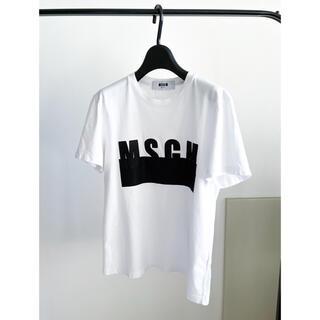 MSGM - 正規品MSGM ロゴTシャツ ホワイト