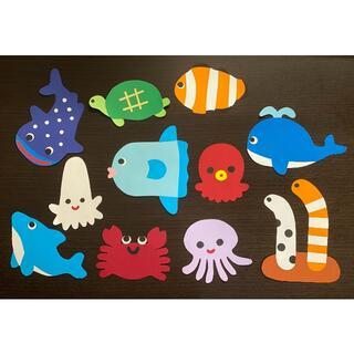 海の生き物シリーズ 壁面飾り(その他)
