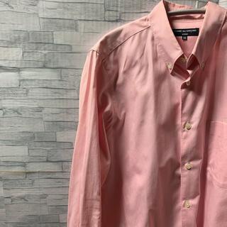 COMME des GARCONS - 着用1回⭐️クリーニング済⭐️人気カラーピンク コムデギャルソンシャツ