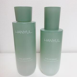 アモーレパシフィック(AMOREPACIFIC)のHANYUL ハンユル 新芽のヨモギ 化粧水 乳液 (化粧水/ローション)