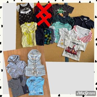 ベビーギャップ(babyGAP)の子供服まとめ売り ベビー服 夏服 babyGAP ユニクロ 80 (Tシャツ)