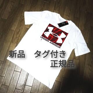 UNDER ARMOUR - 新品 UNDER ARMOUR Tシャツ WHITE