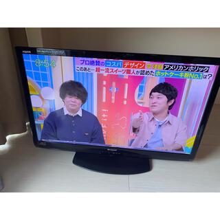 アクオス(AQUOS)のシャープ AQUOS 40型テレビ(テレビ)