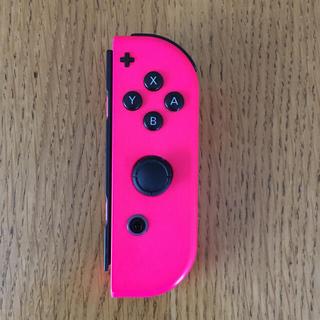ニンテンドースイッチ(Nintendo Switch)のJoy-Con/ジャンク/ネオンピンク/R/右側/任天堂(その他)