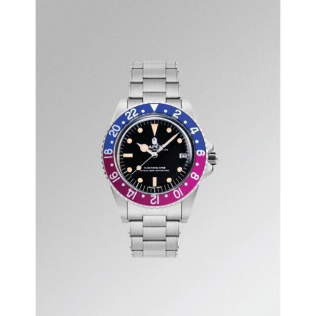 A BATHING APE(アベイシングエイプ)の激レア 新作 A BATHING APE TYPE 2 BAPEX メンズの時計(腕時計(アナログ))の商品写真