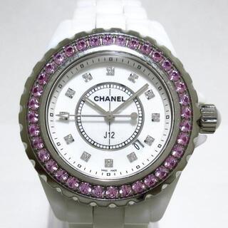 CHANEL - シャネル 腕時計 J12 H2010 レディース 白