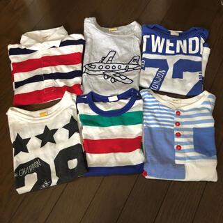 ムージョンジョン(mou jon jon)の早い者勝ち‼︎[中古品]moujonjon 男の子夏服 6枚セット(Tシャツ/カットソー)