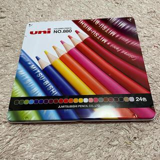 三菱鉛筆 - 三菱色鉛筆24色