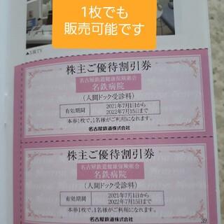 名古屋鉄道 名鉄 人間ドック 健康診断 クーポン 割引券 チケット 5%off(その他)