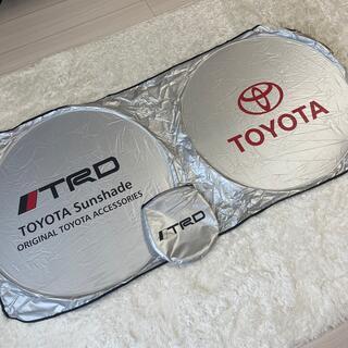 トヨタ - トヨタ TOYOTA TRD ロゴサンシェード 収納袋付き