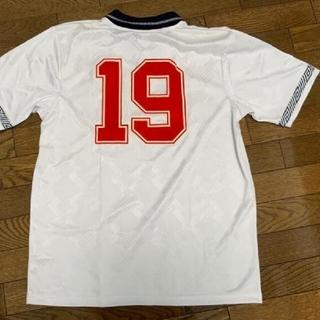 UMBRO - イングランド代表 No.19 ガスコイン ユニフォーム 1990モデル