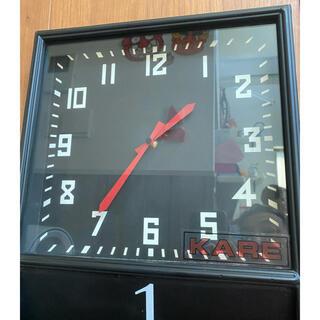 アクタス(ACTUS)のLIVING HOUSE KARE マガジンラック付きウォール時計(掛時計/柱時計)