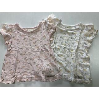 ビケットクラブ(Biquette Club)のリリーアイボリー Tシャツ2枚セット(Tシャツ/カットソー)
