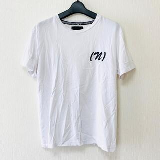 ナンバーナイン(NUMBER (N)INE)のナンバーナイン 半袖Tシャツ サイズM - 白(Tシャツ(半袖/袖なし))
