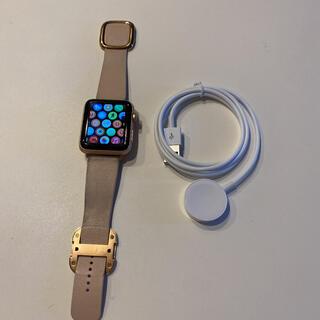 アップル(Apple)のApple Watch 3 cellular+GPSモデル 42mm 美品(その他)