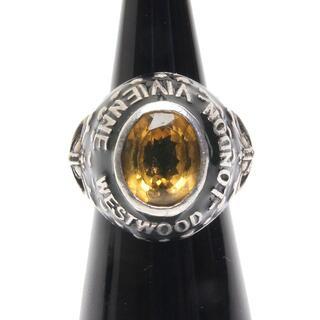 ヴィヴィアンウエストウッド(Vivienne Westwood)のヴィヴィアンウエストウッド カレッジリング スカル オーブ リング 指輪 M (リング(指輪))