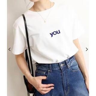 イエナスローブ(IENA SLOBE)のSLOBE IENA you5/S TEE(Tシャツ(半袖/袖なし))