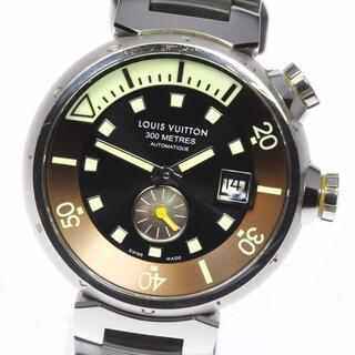 ルイヴィトン(LOUIS VUITTON)のルイ・ヴィトン タンブール ダイビング Q1031 メンズ 【中古】(腕時計(アナログ))