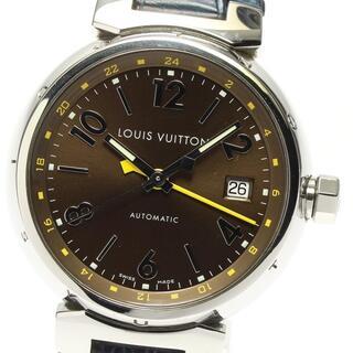 ルイヴィトン(LOUIS VUITTON)の☆良品 ルイ・ヴィトン タンブール デイト Q1131 メンズ 【中古】(腕時計(アナログ))