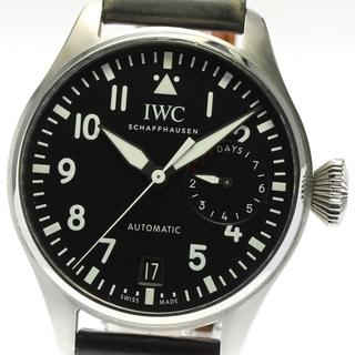 インターナショナルウォッチカンパニー(IWC)の☆良品 IWC ビッグ パイロットウォッチ IW500912 メンズ 【中古】(腕時計(アナログ))