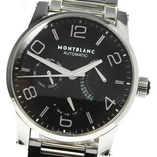 MONTBLANC - モンブラン タイムウォーカー デイデイト 7142 メンズ 【中古】