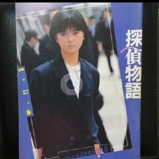 【送料無料】薬師丸ひろ子主演映画『探偵物語』のパンフレット(その他)