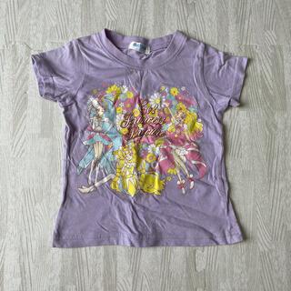 バンダイ(BANDAI)のTシャツ プリンセスプリキュア 100 薄紫(Tシャツ/カットソー)