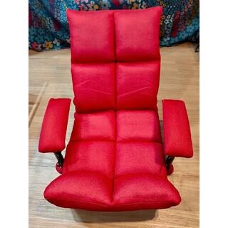 アテックス 腹筋!座いす レッド AX-HC151RD(エクササイズ用品)