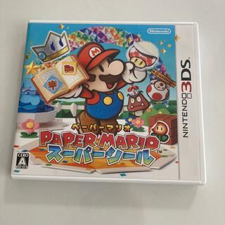 ニンテンドー3DS(ニンテンドー3DS)のペーパーマリオ スーパーシール 3DS(携帯用ゲームソフト)