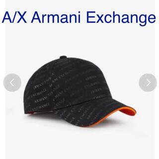 アルマーニエクスチェンジ(ARMANI EXCHANGE)の【新品】アルマーニエクスチェンジ キャップ ロゴパターン パネルキャップ(キャップ)