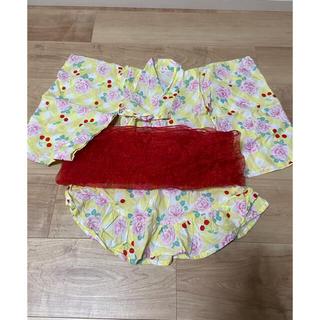 ニシマツヤ(西松屋)の浴衣ドレス♡90(甚平/浴衣)