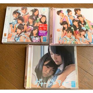 エヌエムビーフォーティーエイト(NMB48)のNMB48 ヴァージニティー ABCセット DVD付(ポップス/ロック(邦楽))