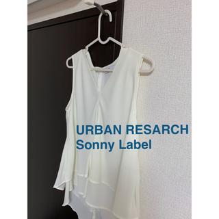 サニーレーベル(Sonny Label)のURBAN RESARCH Sonny Label ノースリーブブラウス(シャツ/ブラウス(半袖/袖なし))